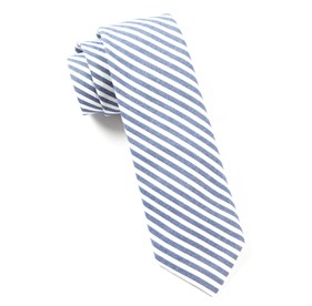 Blue Minor Stripe ties