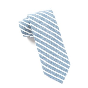 walkover stripe navy ties