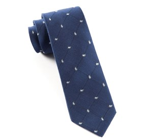 Navy Paisley System ties
