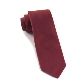 Burgundy Astute Solid ties