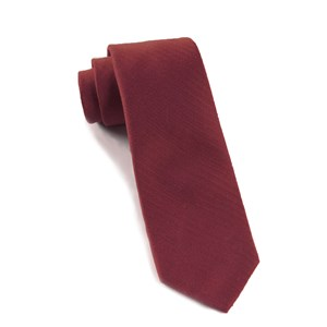 astute solid burgundy ties