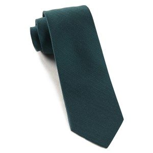 astute solid green teal ties