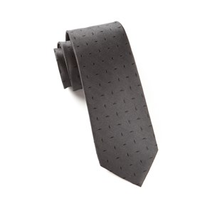 Industry Solid Black Ties