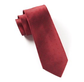 Industry Solid Red Ties