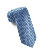 Ties - Aerial Geo - Light Blue