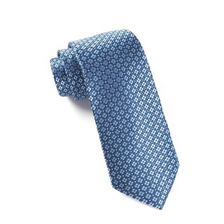 aerial geo light blue ties