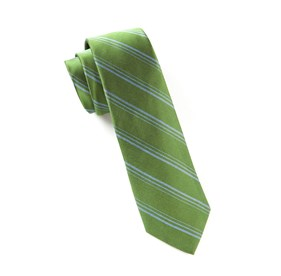 Framing Stripe Clover Ties