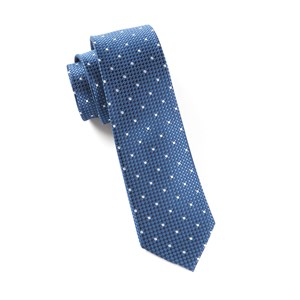 vinyl dots blue ties