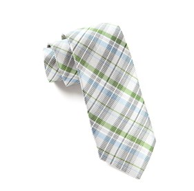Legacy Plaid Silver Ties