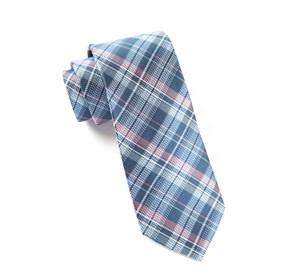 Blue Legacy Plaid ties