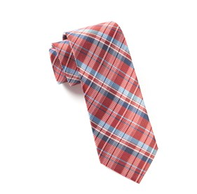 Red Legacy Plaid ties