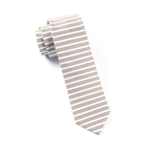 unity stripe brown ties
