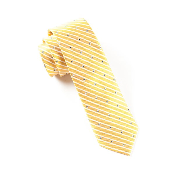 Yellow Arbor Stripe Tie