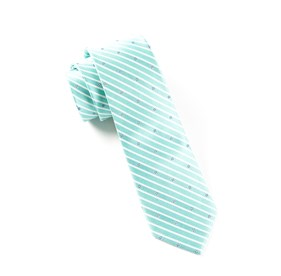 Aqua Arbor Stripe ties