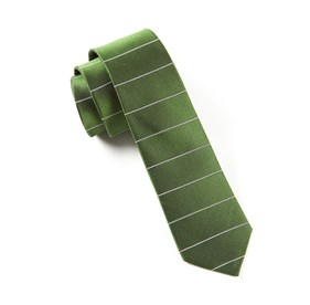 Institute Stripe Green Ties