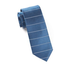 Institute Stripe Blue Ties