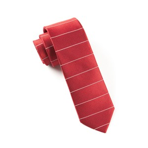 institute stripe red ties