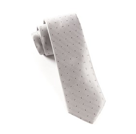 Industry Solid Silver Ties