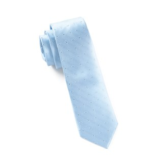 industry solid light blue ties