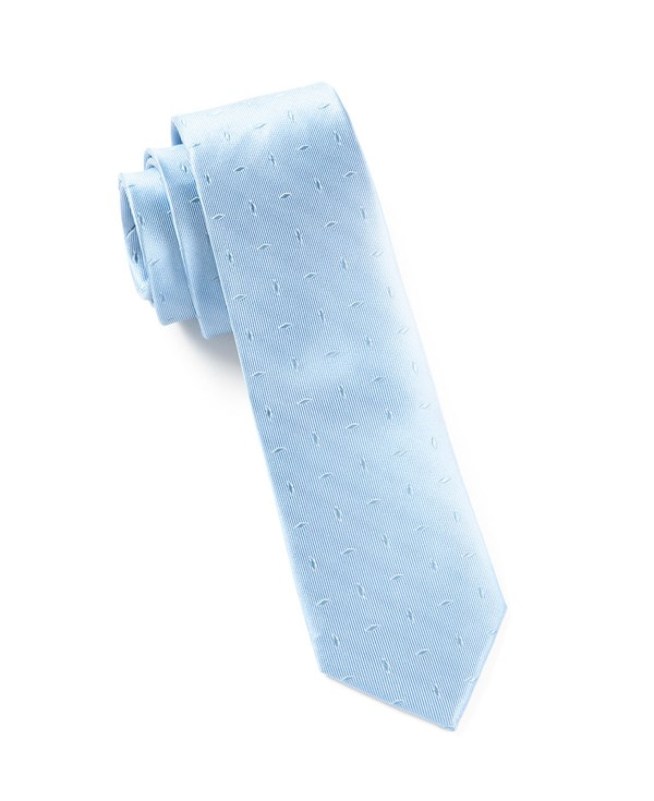 Industry Solid Light Blue Tie