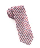 Ties - Parker Plaid - Red