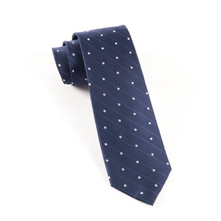 ringside dots navy ties