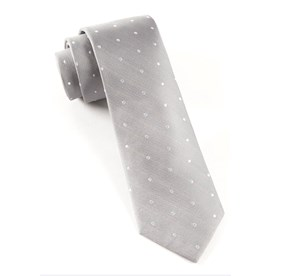 Ringside Dots Silver Ties