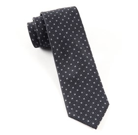 Black Pacific Polkas ties
