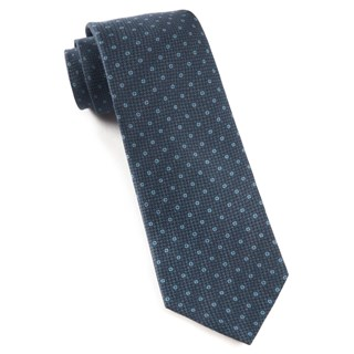 pacific polkas navy ties