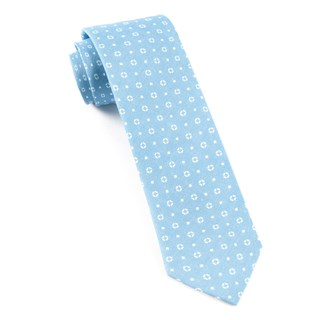 geo scope sky blue ties
