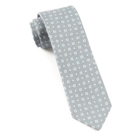 Grey Geo Scope ties
