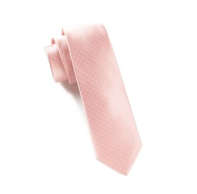 Light Pink Mini Dots ties