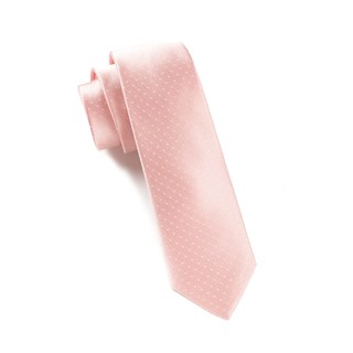 Mini Dots Light Pink Tie