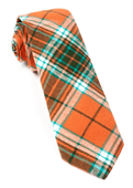 Ties - Vice Plaid - Orange