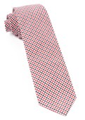 Ties - Gulf Shore Gingham - Red