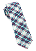 Ties - Central Park Plaid - Turquoise