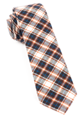 Ties - Central Park Plaid - Brown