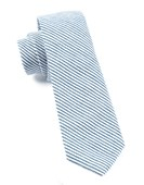 Ties - Jackson Stripe - Navy