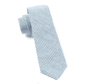 Jackson Stripe Navy Ties