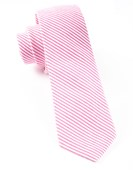 Ties - Jackson Stripe - Hot Pink