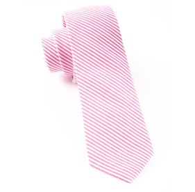 Hot Pink Jackson Stripe ties