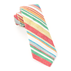Red Santa Fe Stripe Tie - Red Santa Fe Stripe Tie primary image