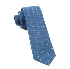 Navy Elmwood ties