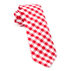 Similar Item - Red Classic Gingham Tie