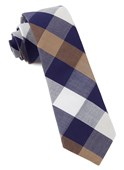 Ties - Courtside Check - Blue