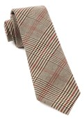Ties - Central Glen Plaid - Brown