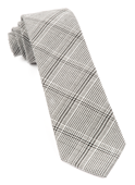 Ties - Central Glen Plaid - Black