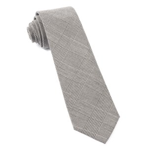 cotton glen plaid black ties