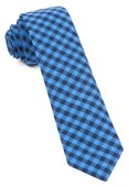 Ties - Gingham Shade - Light Blue