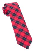 Ties - Streetwise Check - Red